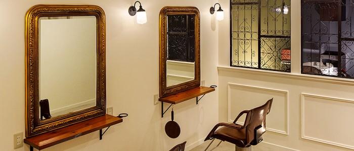 美容室Vieはマンツーマンでご対応いたします